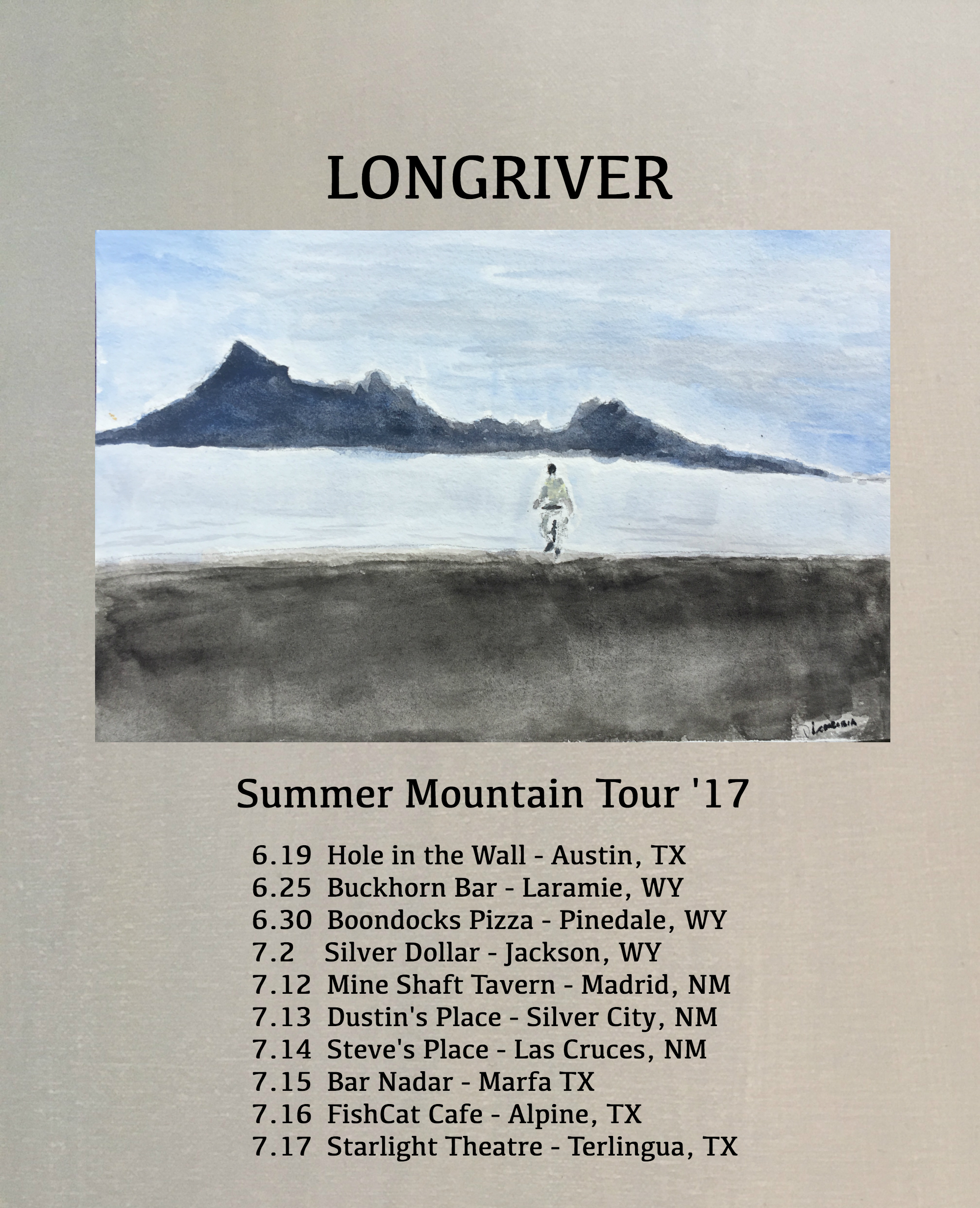 Summer Mountain Tour '17